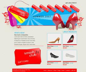 Smash Club Website by mitch2004
