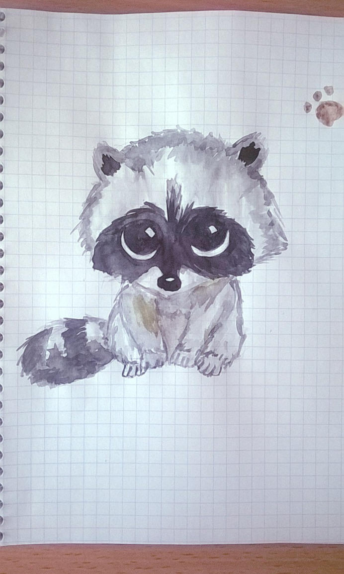 Raccoon by jjjDDDD2
