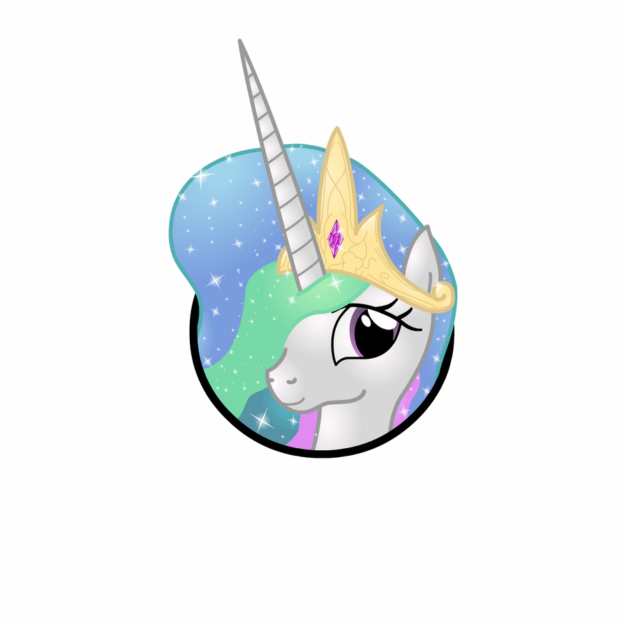 Princess Celestia Icon by Lakword