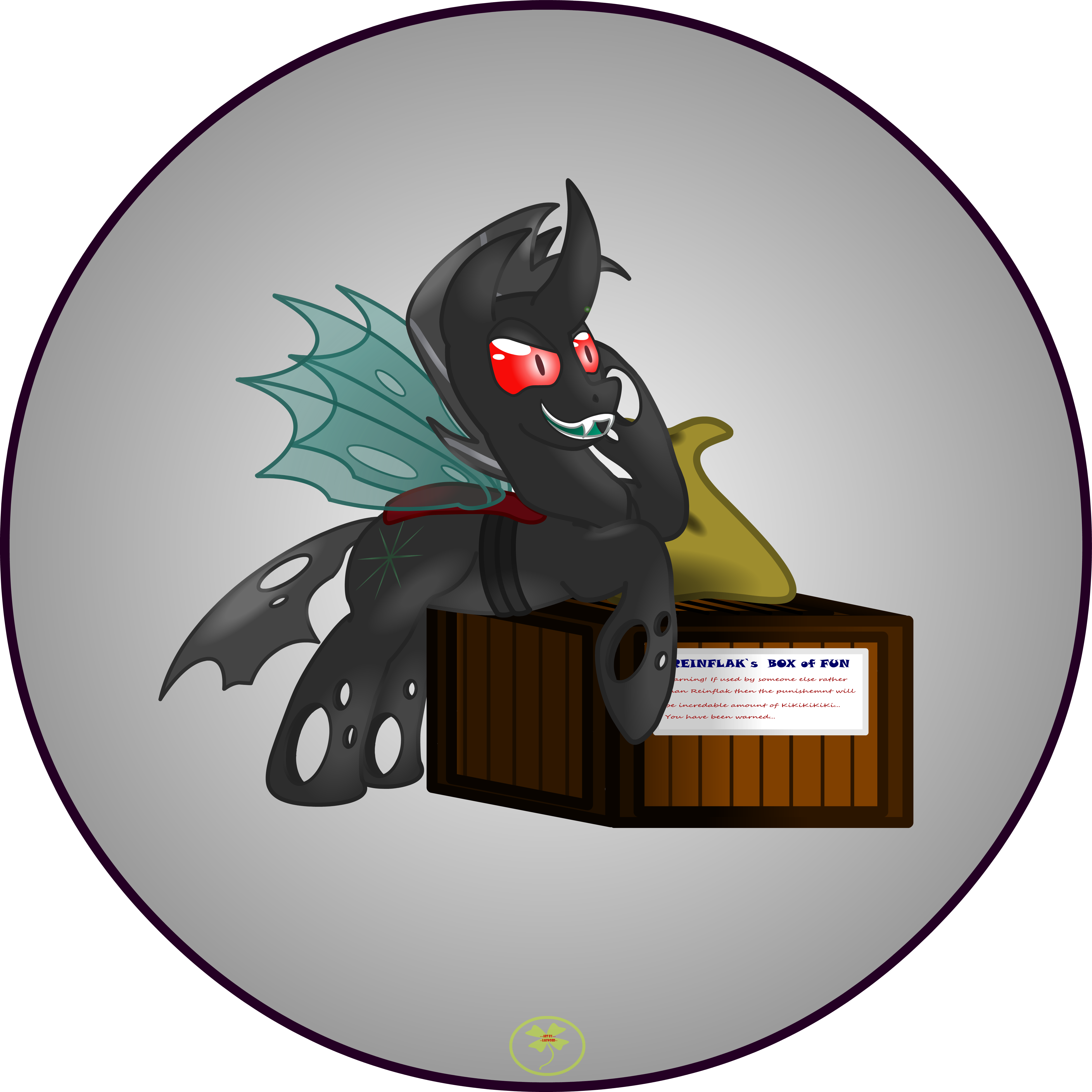 Reinflak and his Box 1 by Lakword