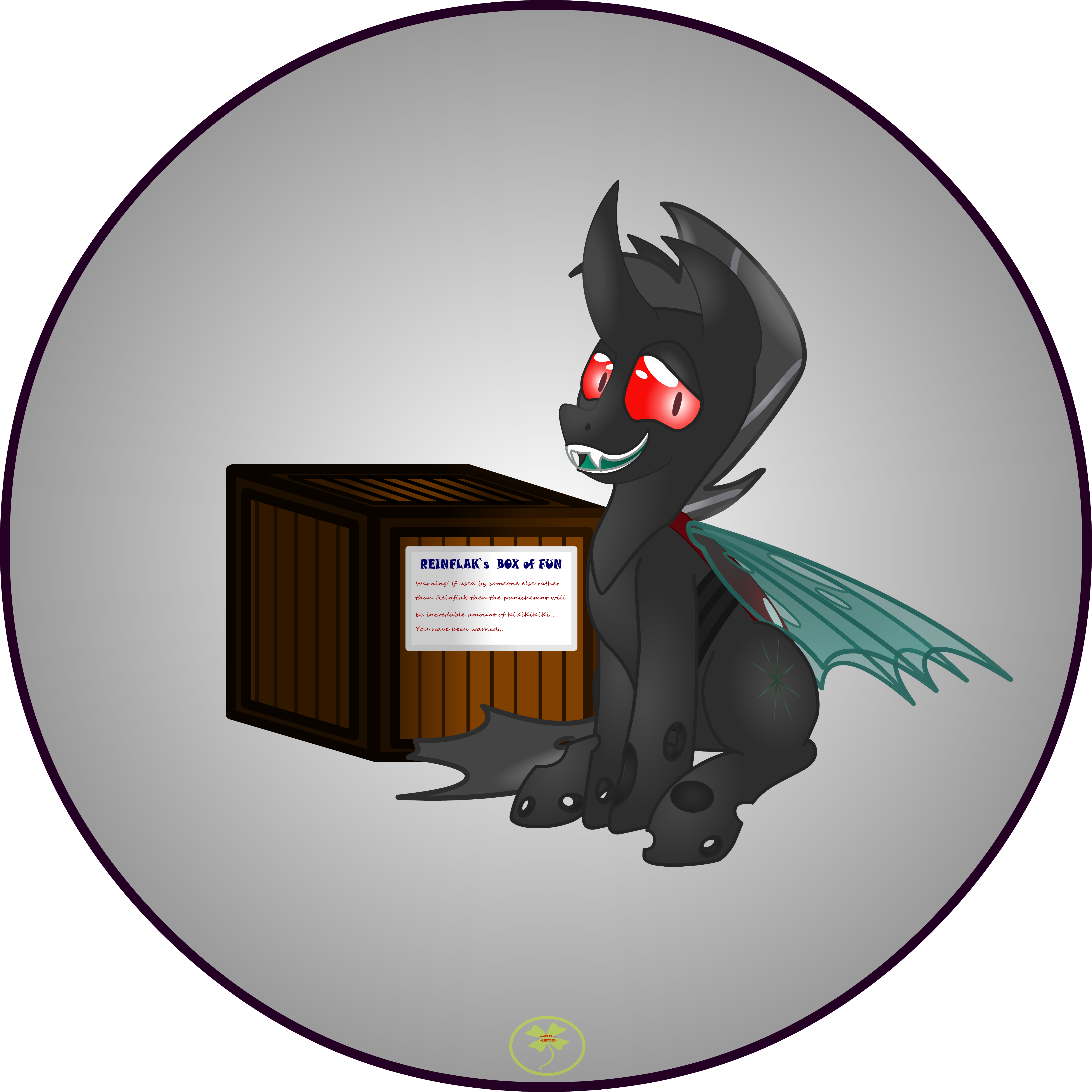 Reinflak with his Box 2 by Lakword