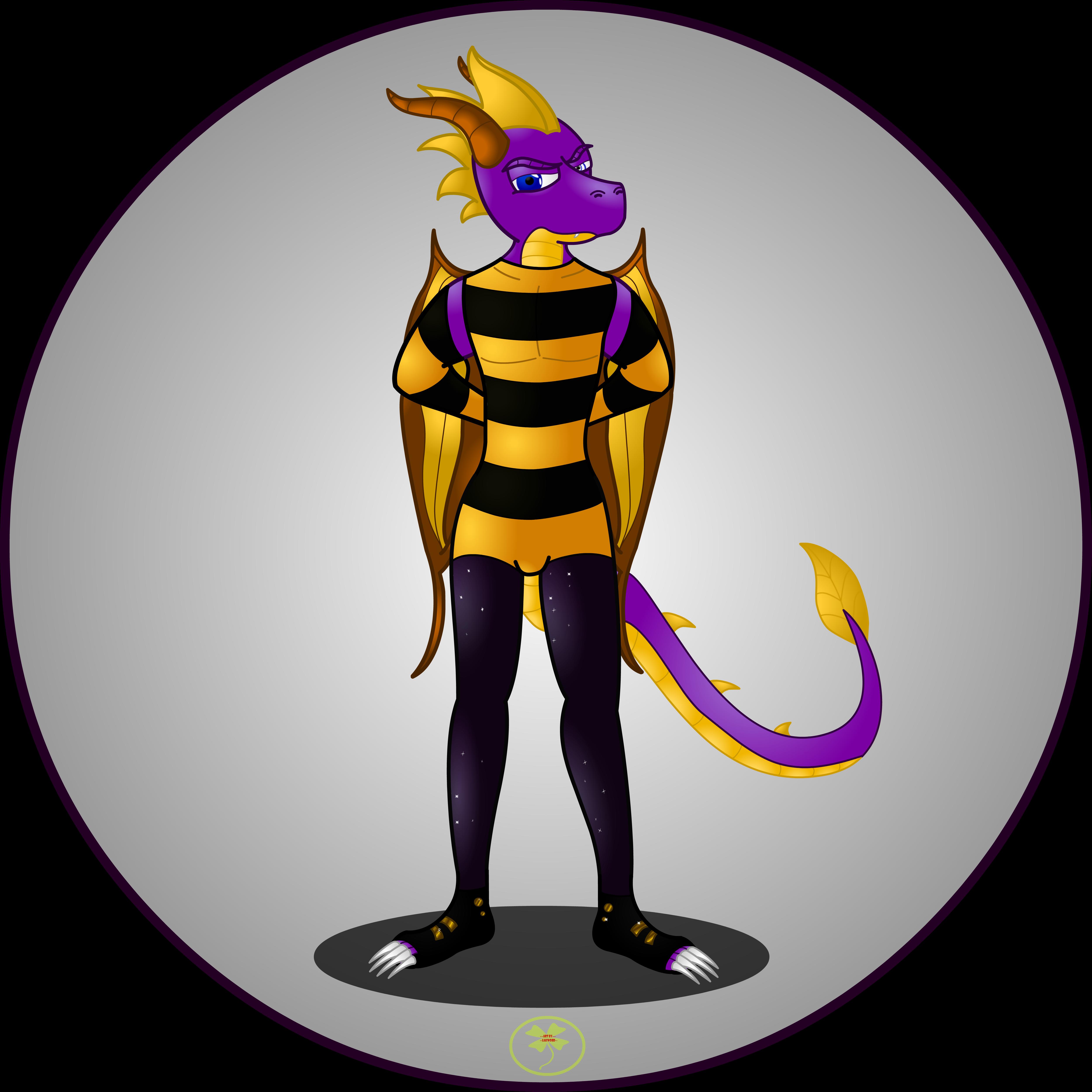 Seperate Spyro Picture by Lakword