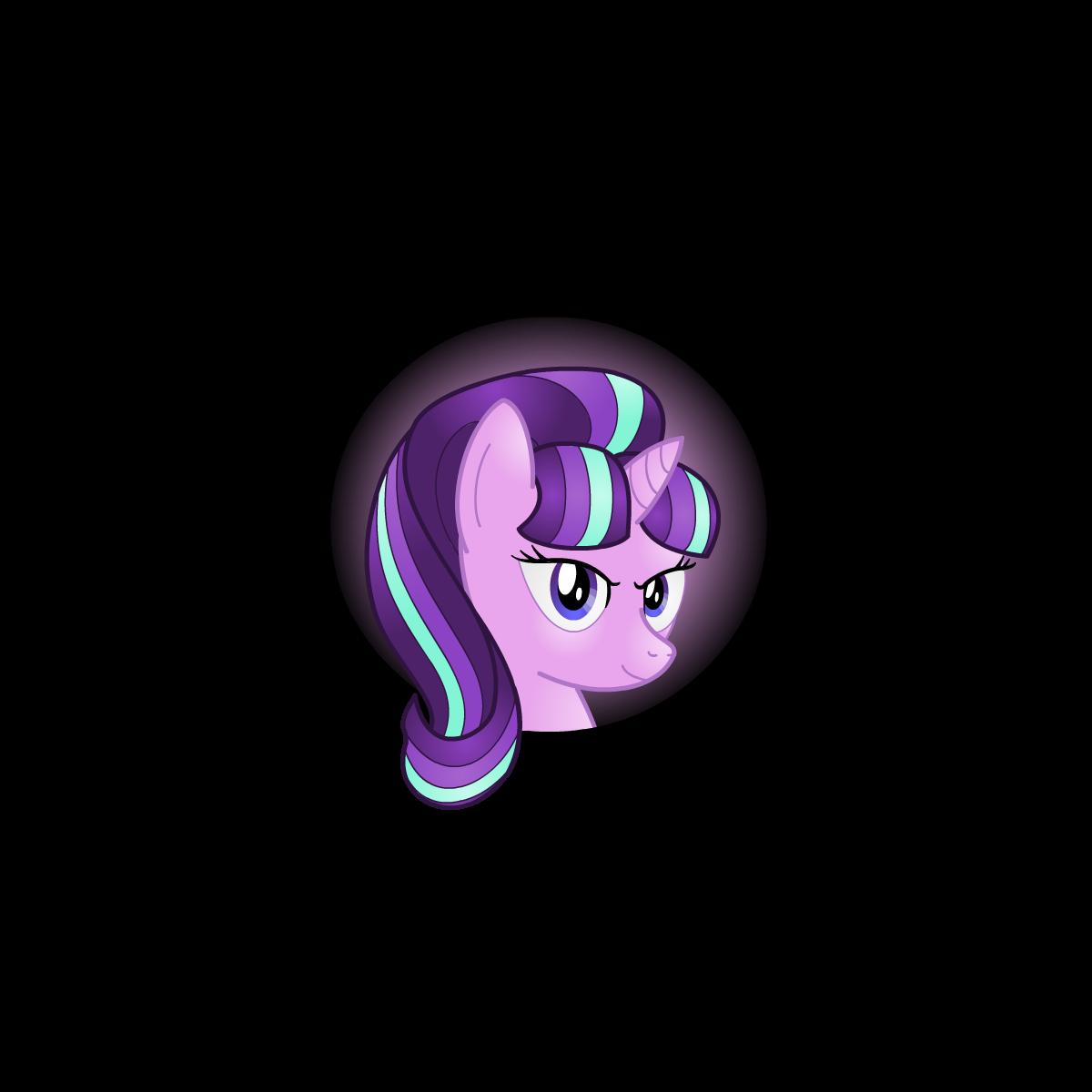 Starlight Glimmer Icon by Lakword