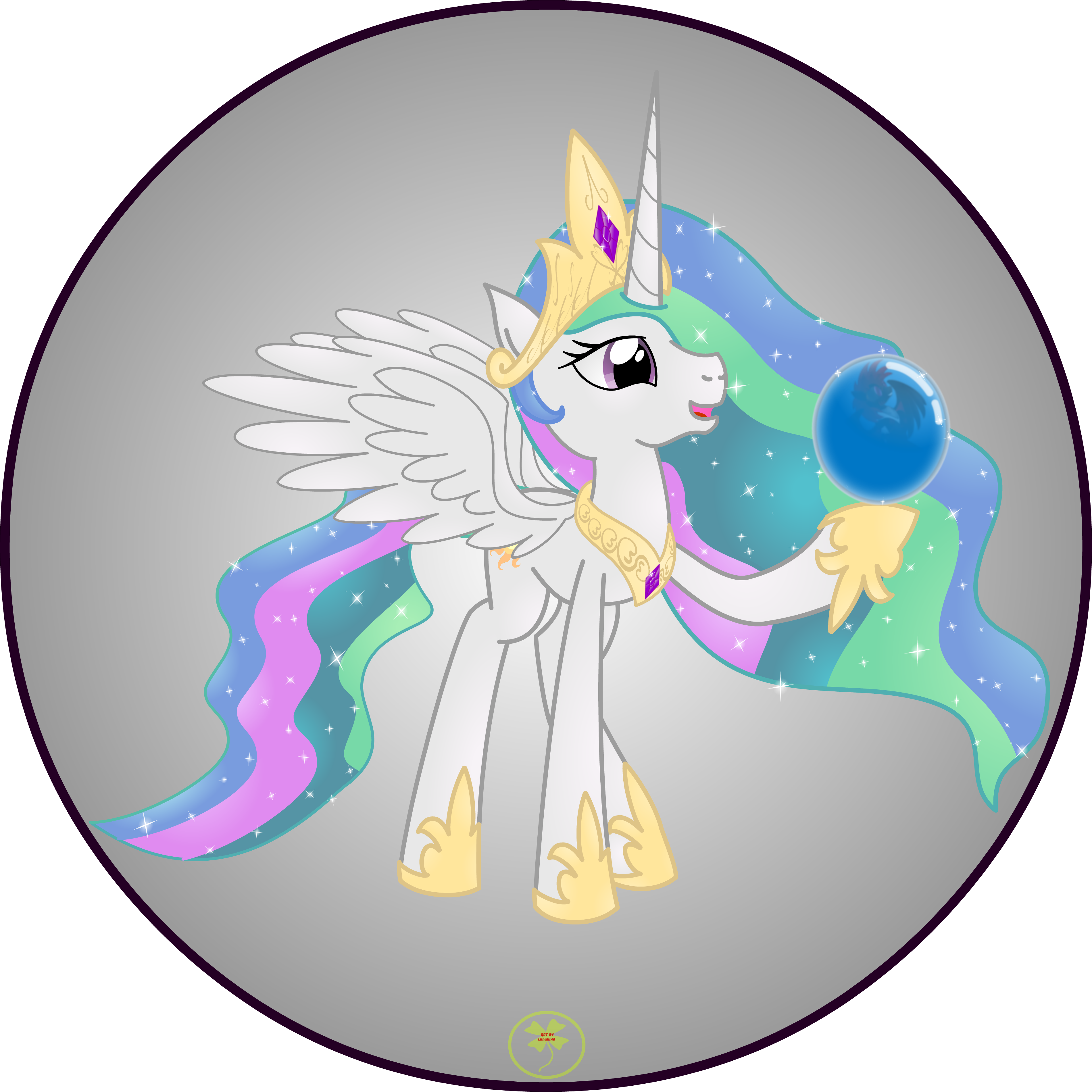 Princess Celestia by Lakword