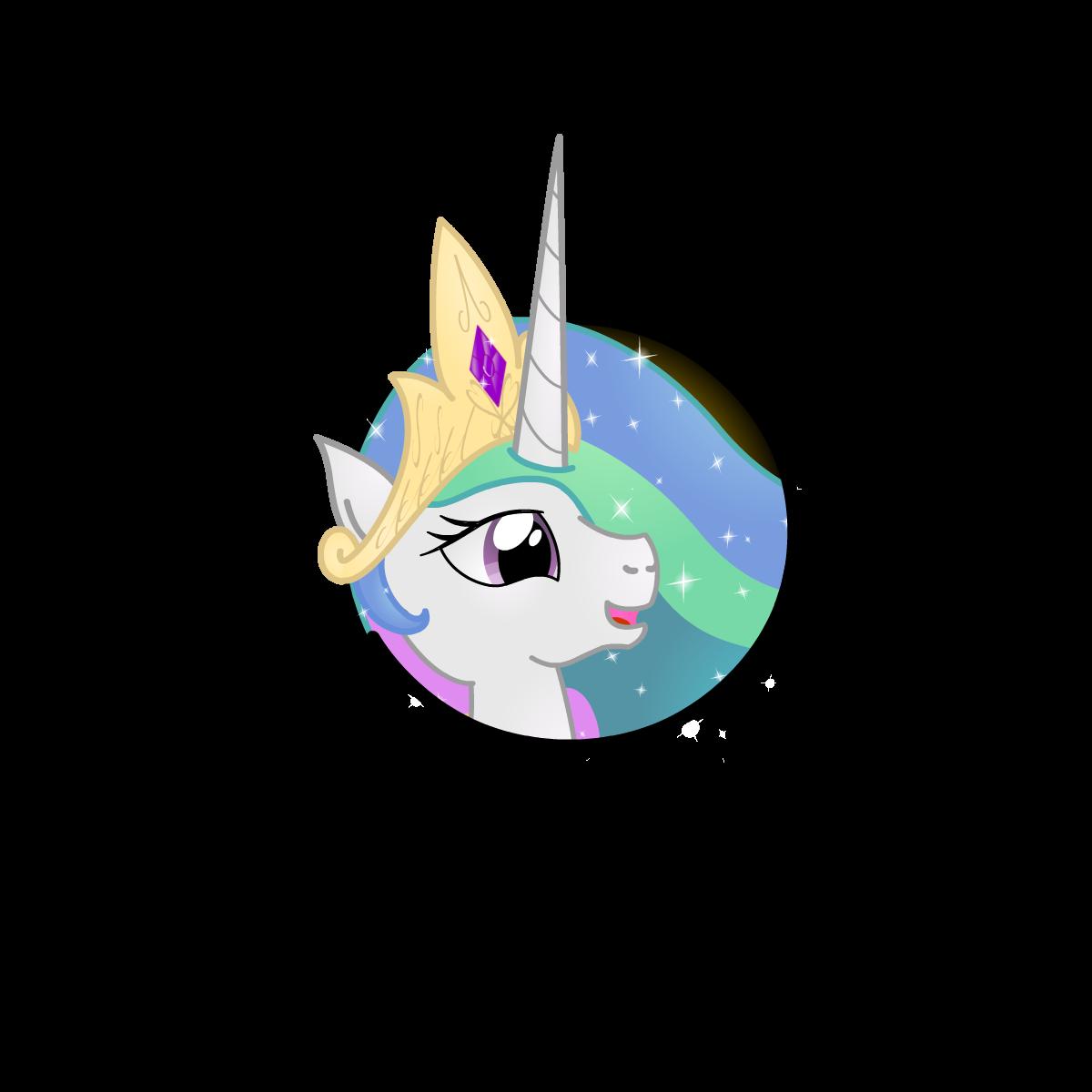 Princess Celestia Icon 2 by Lakword