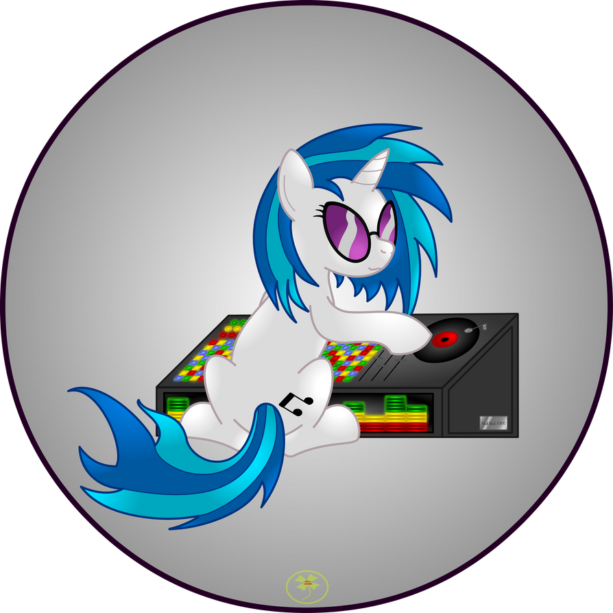 Vinyl Scratch by Lakword
