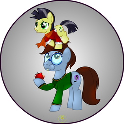 Lucky Joe and Ink Bluehooves Xmas