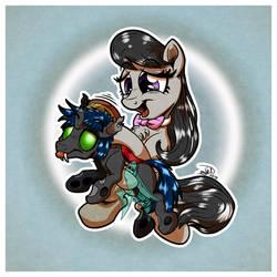 Flik and Octavia (Art Trade)