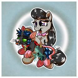 Flik and Octavia (Art Trade Bonus)
