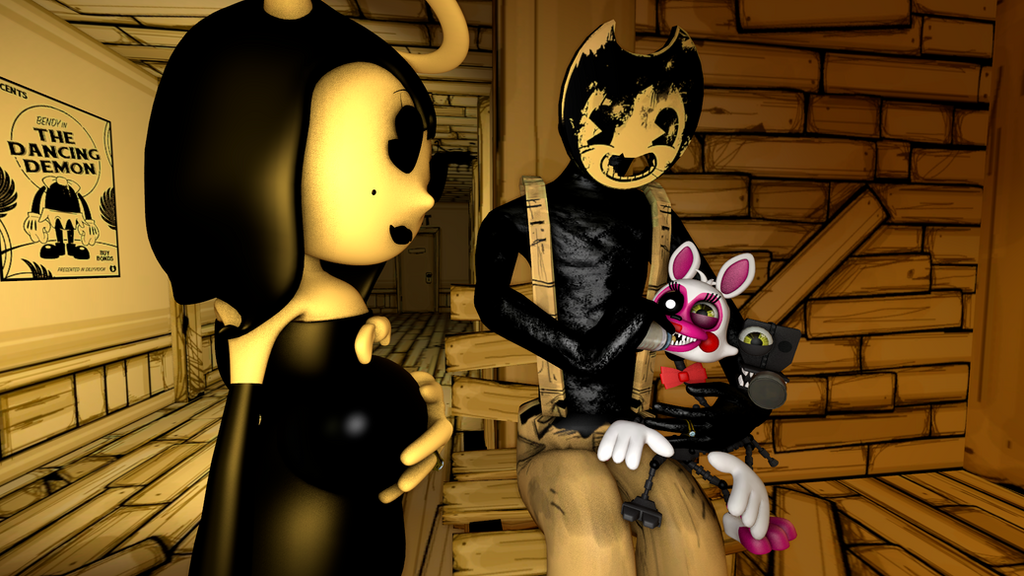 Sammy Lawrence With Adventure Mangle Batim Fnaf By
