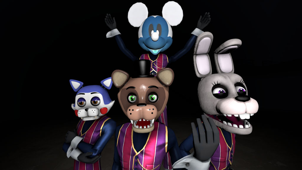We Are Number One But It's FNAF Fan-Games! by Clawort