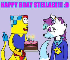 Happy Birthday Stella!!! (OCs) by Clawort-Animations