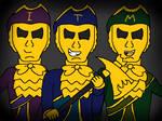The Gold Watchers (Dark Deception Fanart)