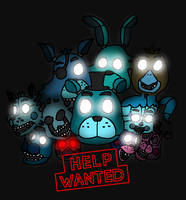 Help Wanted (FNAF VR Fanart) by Clawort-Animations