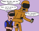 If Dark Deception Was In Virtual Reality