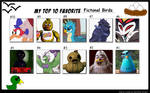 My Top 10 Favourite Fictional Birds