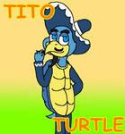 Tito Turtle (Willy's Wonderland Fanart)