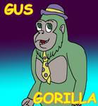 Gus Gorilla (Willy's Wonderland Fanart)