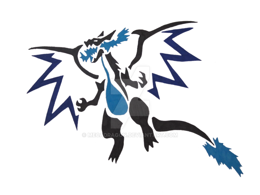 Mega dracaufeu x by mecadragon on deviantart - Mega evolution dracaufeu ...