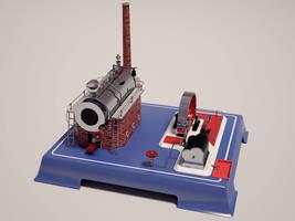 Wilesco D20 Steam Engine by undeathspawn