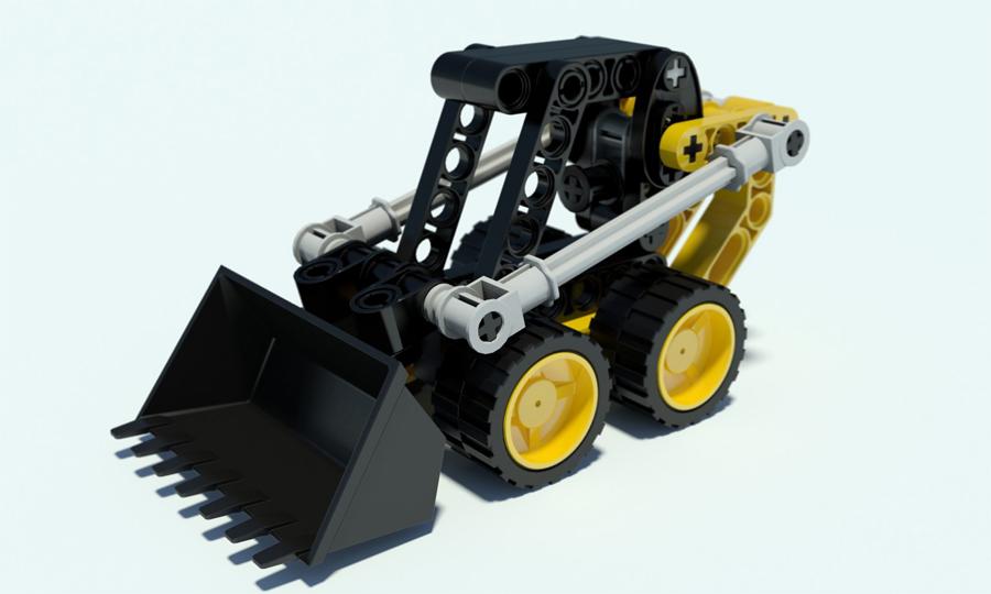 Lego MiniLoader by undeathspawn