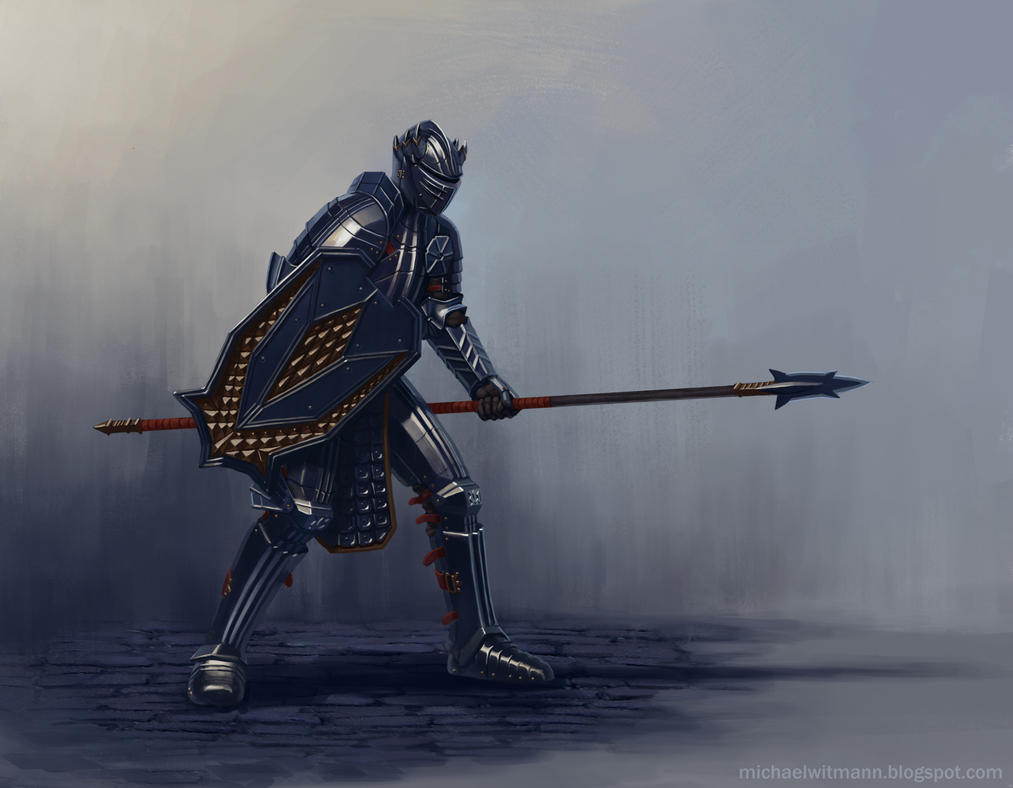 Black Spear by 2tall4yall