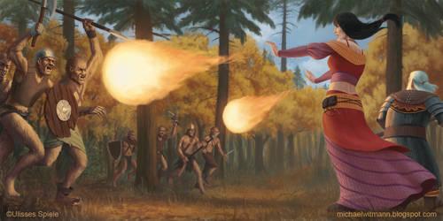 DSA Fireballs by 2tall4yall
