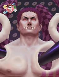 One Piece Villains: Charlotte Katakuri by 2tall4yall
