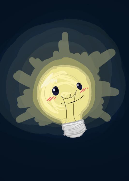 Lightbulb by missbooyaka