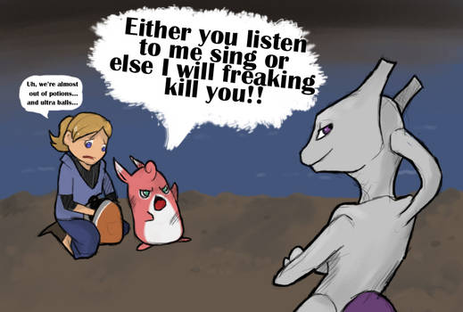 Mewtwo is Freaking Annoying
