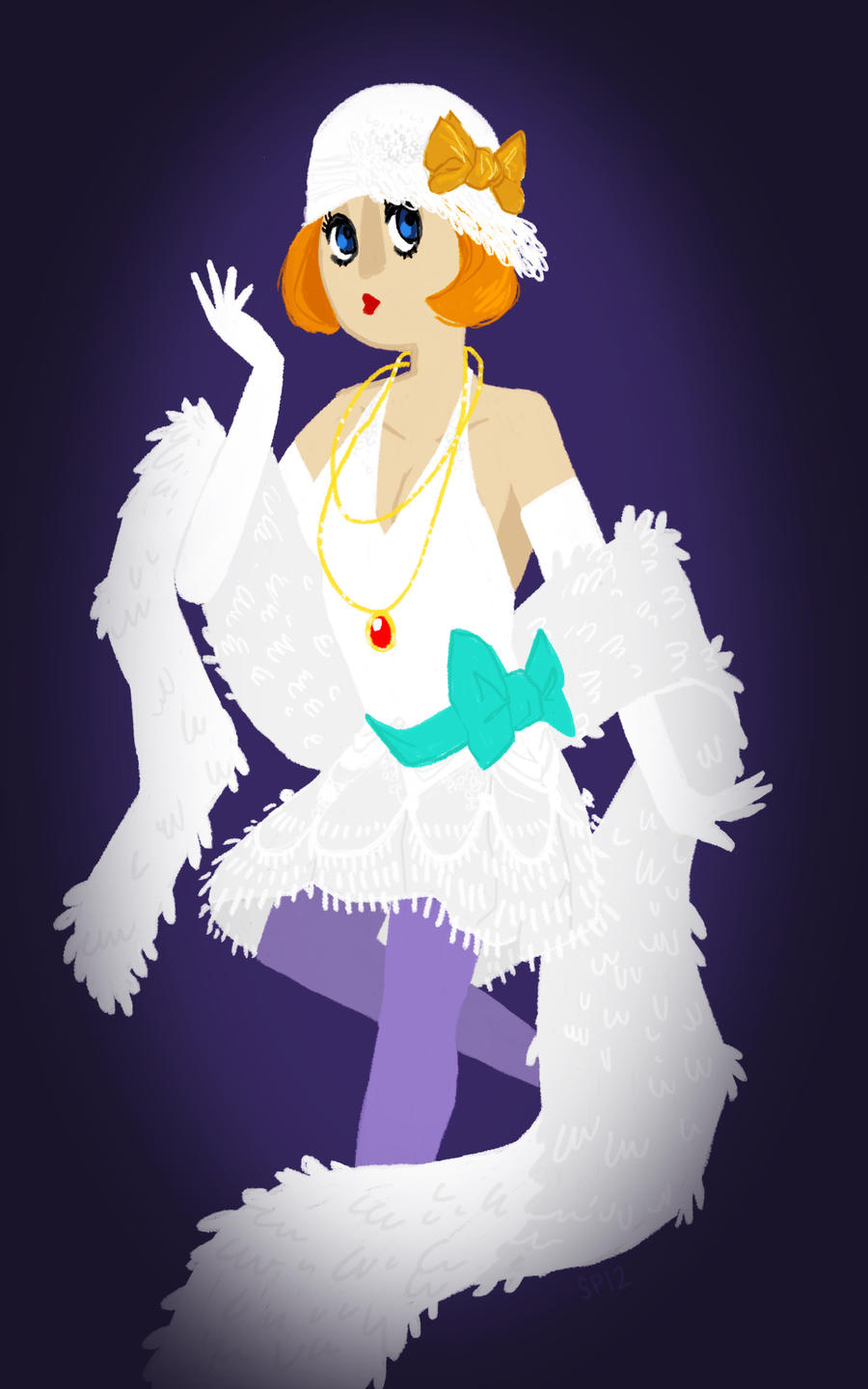 Princess Flapper by missbooyaka