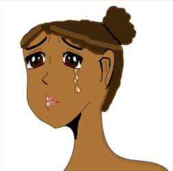 Sad Anime Me by Amythystyana