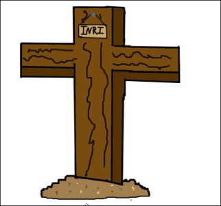 Jesus' Cross Easter by Amythystyana