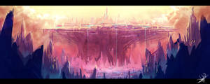 The Dhenzel: Speed Art 05: City of Nime