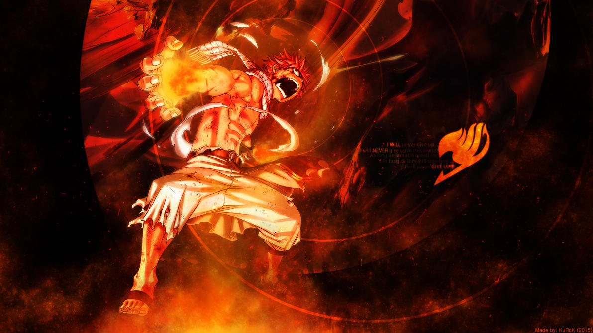 Fairy Tail Natsu Dragon Force Wallpaper
