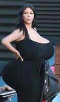 Kim Kardashian Butt/Boobs Expansion 1