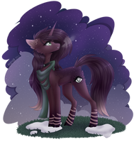 [Gift] Cold night by Monogy