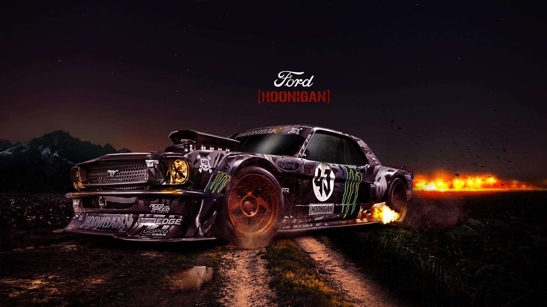 Hoonigan Mustang Wallpaper