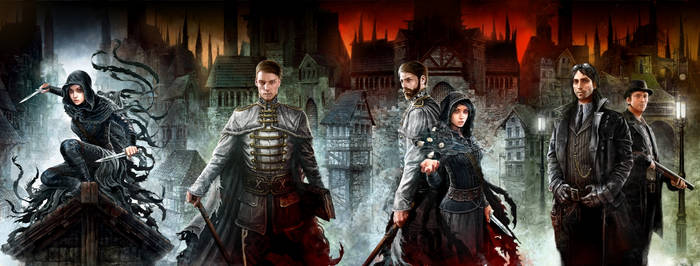 Mistborn - 4 covers in 1 artwork