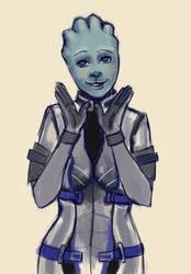 Glad you came, Shepard by xLacie
