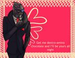Valentine'd Garrus by xLacie