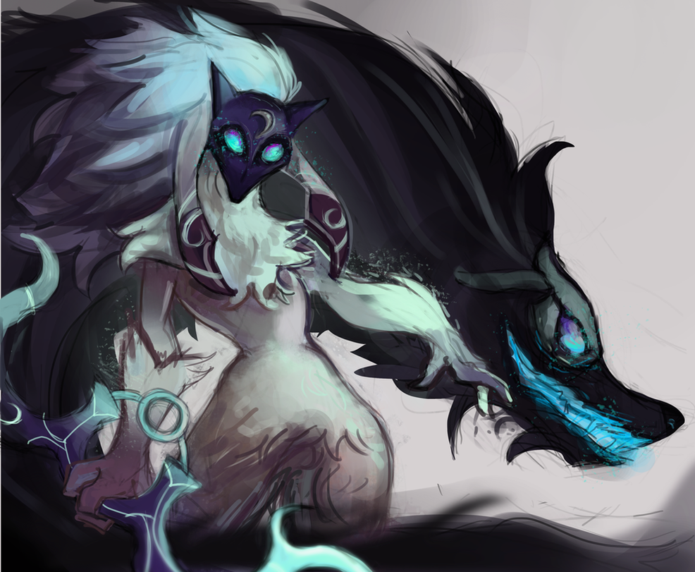 Kindred Minimalist Wallpaper League Of Legends By: Kindred // By XLacie On DeviantArt