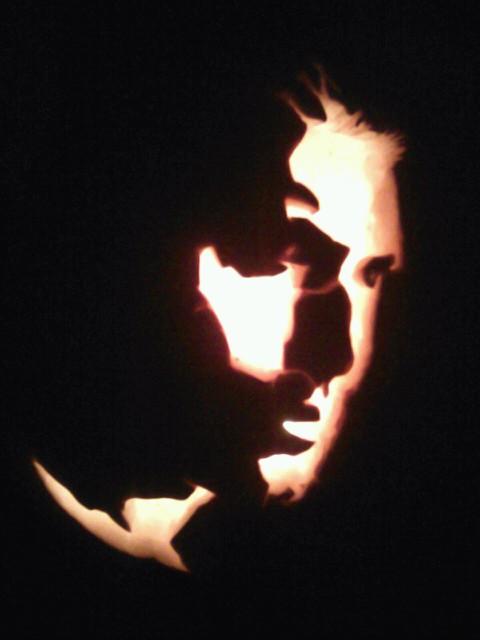 Dean Winchester Halloween Pumpkin by yuffb