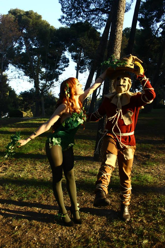 Scarecrow and Poison Ivy 1 by NekoCLaRish