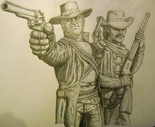 Call of Juarez: Ray and Thomas by renslo689