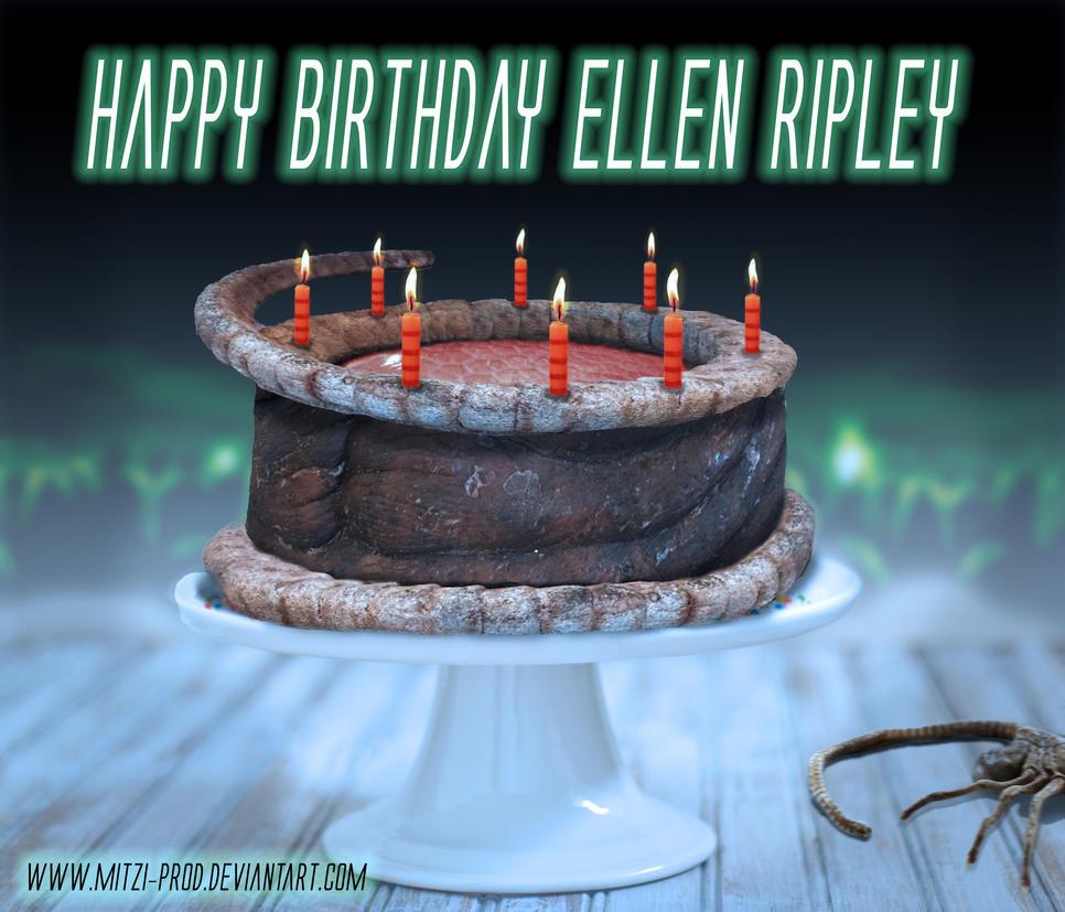 Alien Birthday Cake By Mitzi Prod On Deviantart