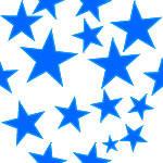 Blue Stars by asaila