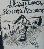 Drawing by Per Yngve Ohlin Sapinta Maramures by lilg9