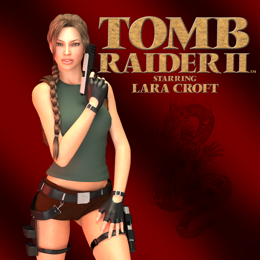 Tomb Raider 2 Wallpaper: TombRaider II Cover By JavierMicheal On DeviantArt