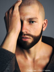 Male Portrait by JavierMicheal